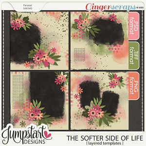 The Softer Side of Life {Templates} by Jumpstart Designs