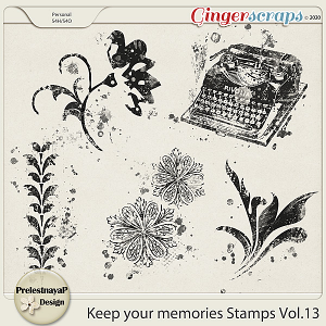 Keep your memories Stamps Vol.13