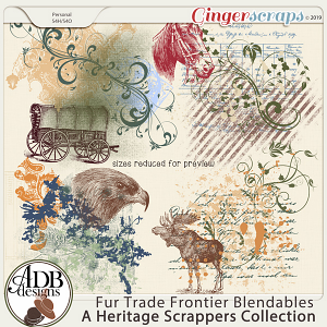 Fur Trade Frontier Blendables by ADB Designs