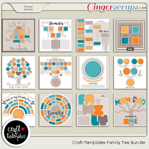 Craft-Templates Family Ties Bundle