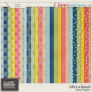 Life's a Beach Extra Papers by Aimee Harrison