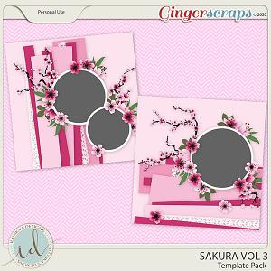 Sakura Template Pack Vol 3 by Ilonka's Designs