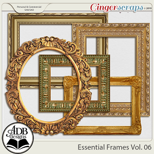Essential Frames Vol 06 by ADB Designs