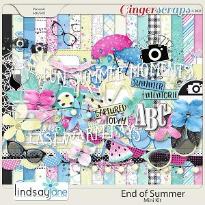 End of Summer Mini Kit by Lindsay Jane