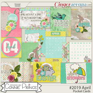 #2019 April - Pocket Cards by Connie Prince