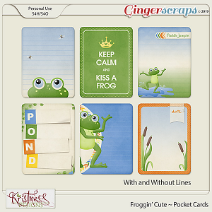 Froggin' Cute Pocket Cards