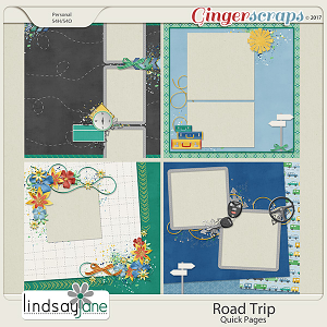 Road Trip Quick Pages by Lindsay Jane