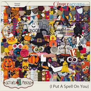 I Put A Spell On You Kit by Scraps N Pieces