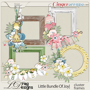 Little Bundle Of Joy: Cluster Frames by LDragDesigns