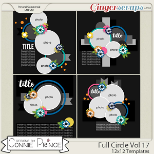 Full Circle Volume 17 - 12x12 Temps (CU Ok) by Connie Prince