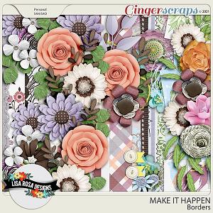 Make it Happen - Borders by Lisa Rosa Designs