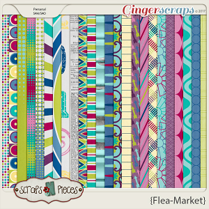 Flea Market Papers by Scraps N Pieces