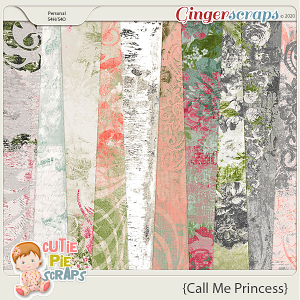Call Me Princess Shabby Chic Papers