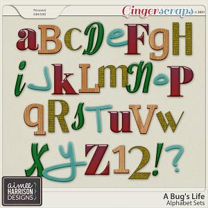 A Bug's Life Alpha Sets by Aimee Harrison