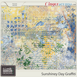 Sunshiney Day Graffiti by Aimee Harrison