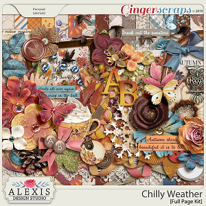 Chilly Weather - Full Page Kit