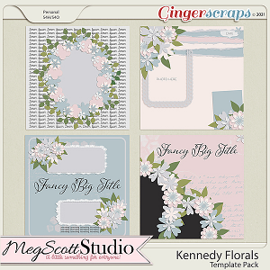 Kennedy Floral Templates