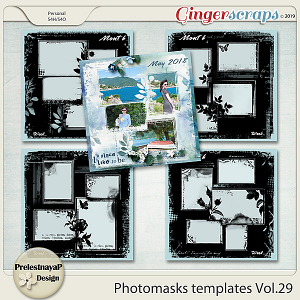 Photomasks templates Vol.29