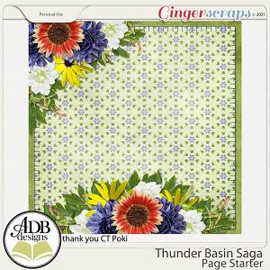 Thunder Basin Saga Stacked Paper Gift 07 by ADB Designs