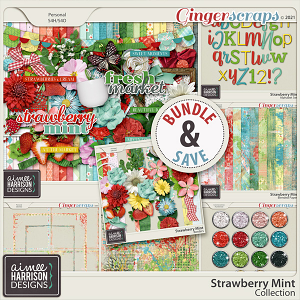 Strawberry Mint Collection by Aimee Harrison