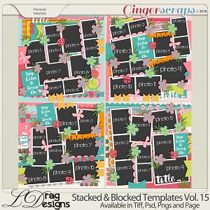 Stacked & Blocked Templates Vol.15 by LDragDesigns