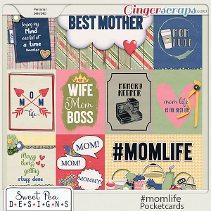Mom life Pocket Cards