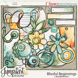 Blissful Beginnings {Doodle Bits} by Jumpstart Designs