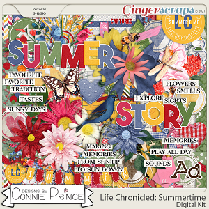 Life Chronicled: Summertime - Kit by Connie Prince