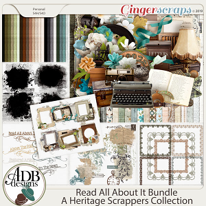Read All About It Bundle by ADB Designs