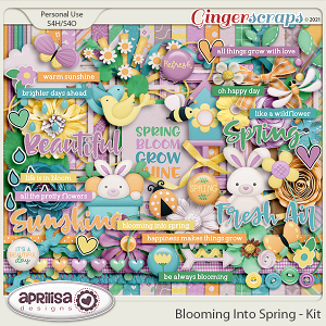 Blooming Into Spring - Kit by Aprilisa Designs