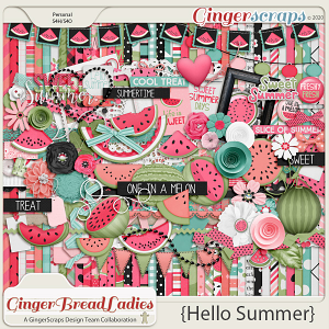 GingerBread Ladies Collab: Hello Summer