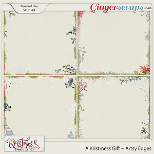 A Kristmess Gift Artsy Edge Overlays