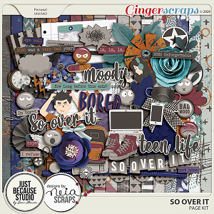 So Over It Page Kit by JB Studio and Neia Scraps