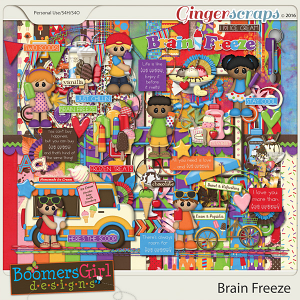Brain Freeze by BoomersGirl Designs