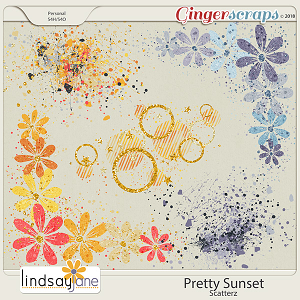 Pretty Sunset Scatterz by Lindsay Jane