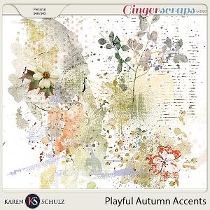 Playful Autumn Accents by Karen Schulz and Linda Cumberland Designs