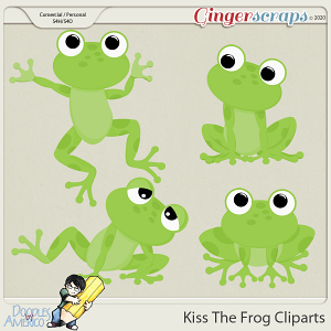 Doodles By Americo: Kiss The Frog Cliparts