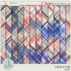 Look at Me Plaids by Ilonka's Designs