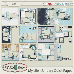 My Life - January Quick Pages