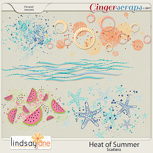 Heat of Summer Scatterz by Lindsay Jane