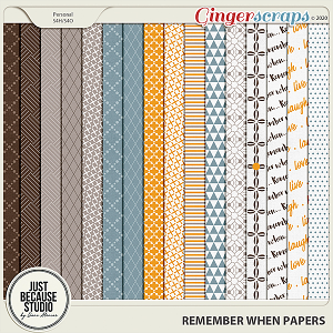 Remember When Papers by JB Studio