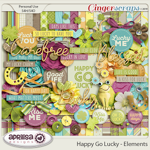 Happy Go Lucky - Kit by Aprilisa Designs
