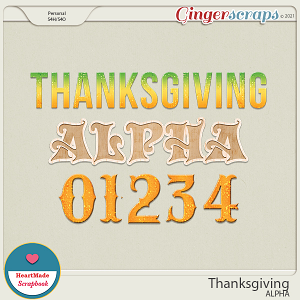 Thanksgiving - alpha