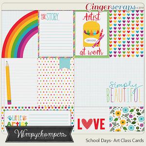 School Days- Art Class Cards