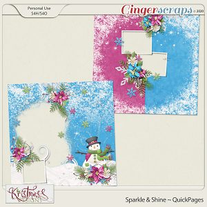 Sparkle & Shine QuickPages