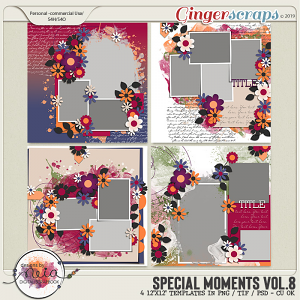 Special Moments- VOL.08 - Templates - by Neia Scraps