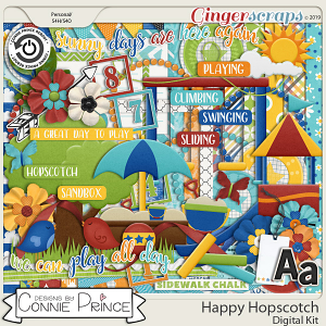 Happy Hopscotch - Kit by Connie Prince