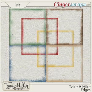 Take A Hike Edges by Tami Miller Designs