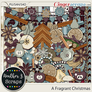 A Fragrant Christmas KIT by Heather Z Scraps