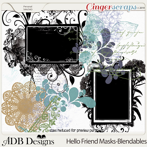 Hello Friend Blendables and Masks by ADB Designs